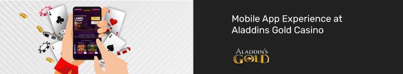 Aladdins Gold Casino Mobile App