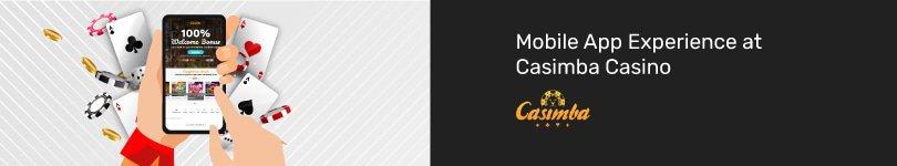 Casimba Casino Mobile App