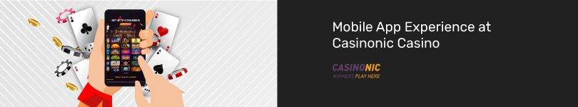Casinonic Casino Mobile App