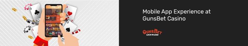 GunsBet Casino Mobile App