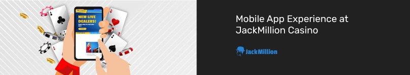 JackMillion Casino Mobile App