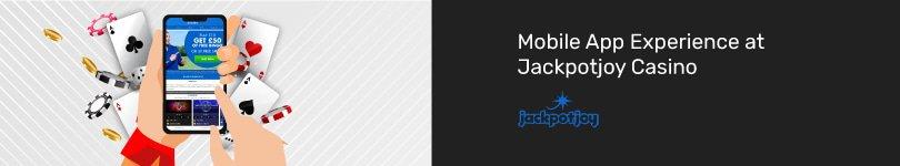 Jackpotjoy Casino Mobile App