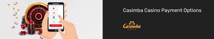 Casimba Casino Mobile Payment Options
