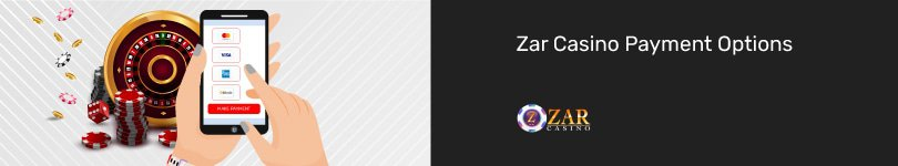 Zar Casino Mobile Payment Options