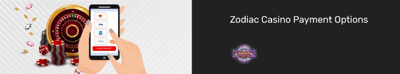 Zodiac Casino Mobile Payment Options