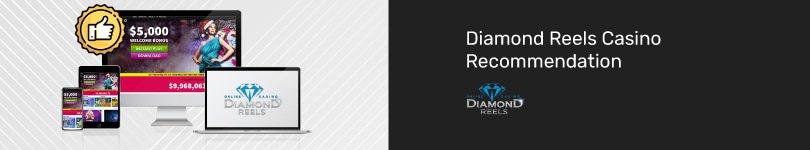 Play at Diamond Reels Mobile Casino