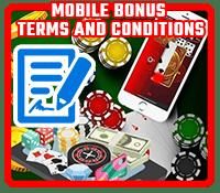 Mobile Bonus Terms
