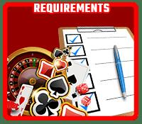 Requirements nodepositsmobile.com